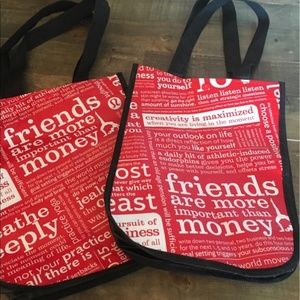 Friends are more important than money Lululemon